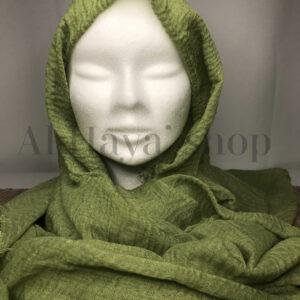 Hijab froissé coton