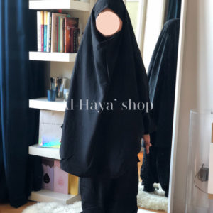 Jilbab fillette saroual
