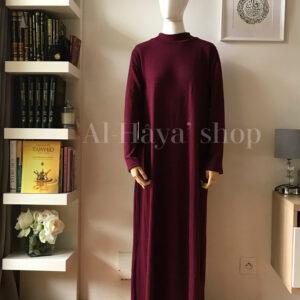 Abaya/robe laine