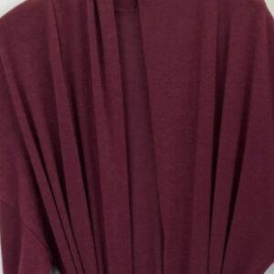 Gilet kimono laine