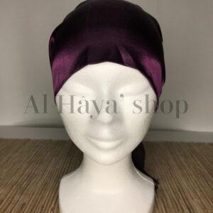 Cagoule sous hijab satin