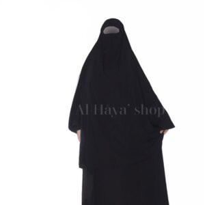 Jilbab 2 pièces jupe manches élastiques